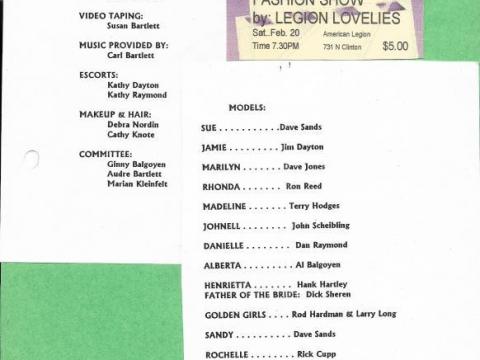 Legion Lovelies 1999
