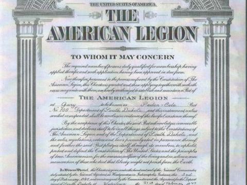 American Legion Post 109, Gary, SD