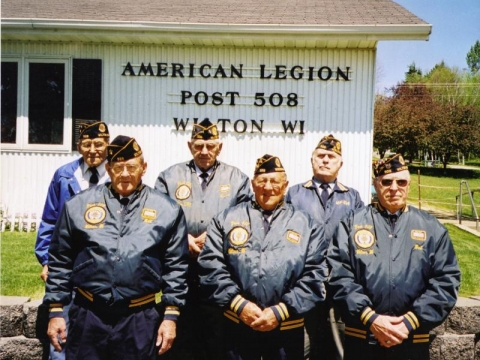 Members after a parade