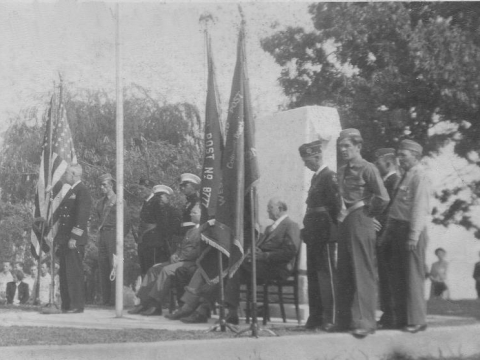 Memorial Dedication October 5, 1947