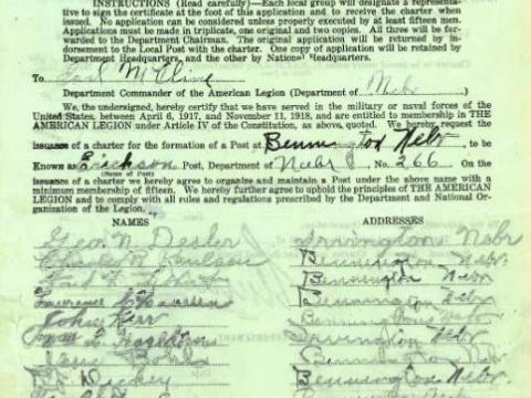 Original Charter