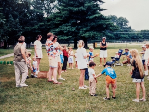 1989- Post 28 Picnic at Central Park in Spring Lake