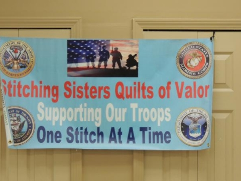 Stiching Sisters Quilts of Valor