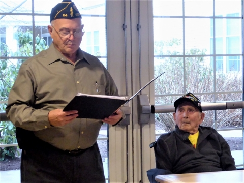 Walter Campbell, Massachusetts Legionare of the Year