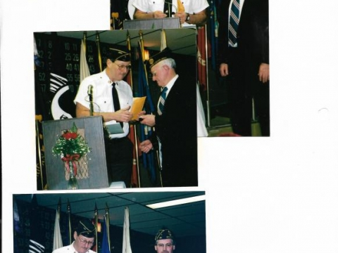 American Legion Celebrates their 83rd birthday 2002