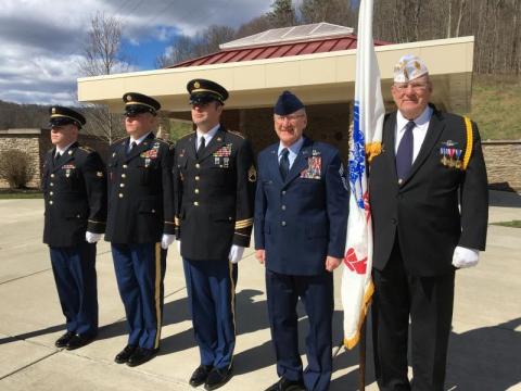 Honors at Donel C. Kinnard Memorial State Veterans Cemetery