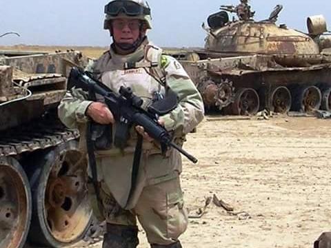 Command Sgt Major (Retired) and past Commander Richard Bammert