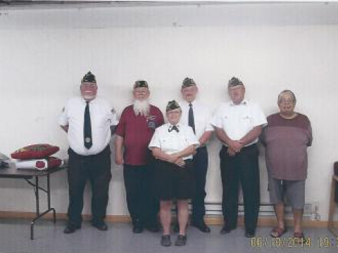 American Legion Charles Polton Post 427, Wellman, Ia