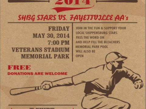 Baseball Flyer May 2014