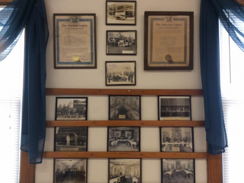 Historical photographs of the Post, fundraisers and Executive Board