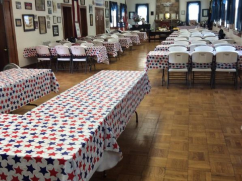 The American Legion hall