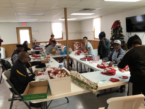 Christmas Stockings and Cards for Hospitalized Veterans