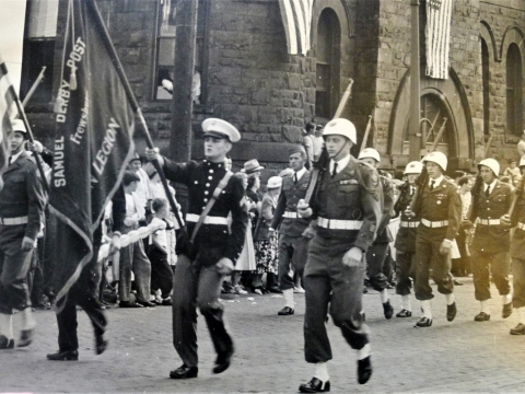 Post 556 was Active Parade Group during the 1950's