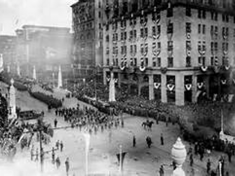 138th Infantry Regiment May 9, 1919