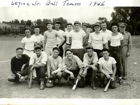 Legion Jr Baseball team