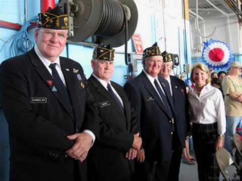 Troops Homecoming -Yeager Airport, Charleston, WV - 2010
