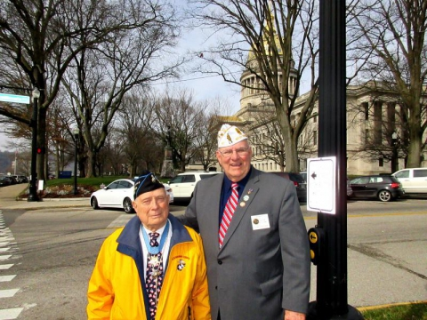 Veterans Visibility Day - 20 February 2017- West Virginia Capitol