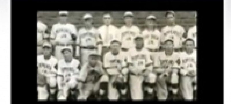 Where can you find photos of some of the very first American Legion Baseball teams?