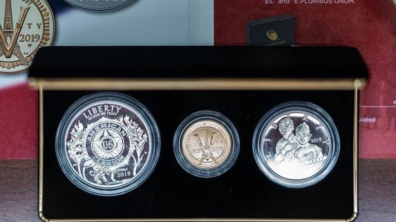 Less than 300 Legion anniversary three coin sets remain