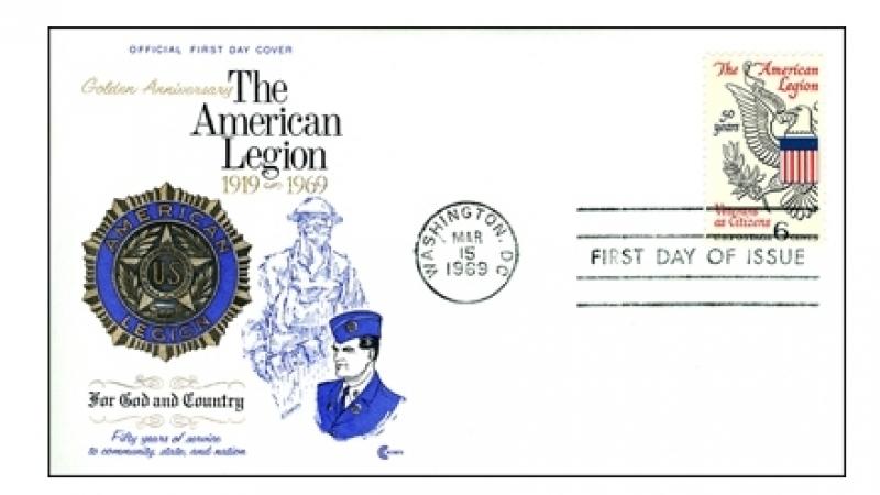 A 50th-anniversary Legion keepsake