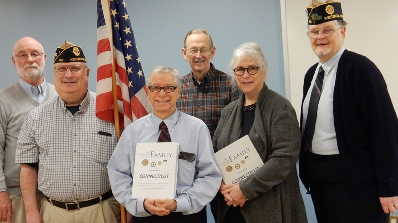 Department of Connecticut gives centennial birthday gifts