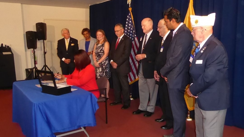 New Jersey legislature honors Legion's 100th anniversary