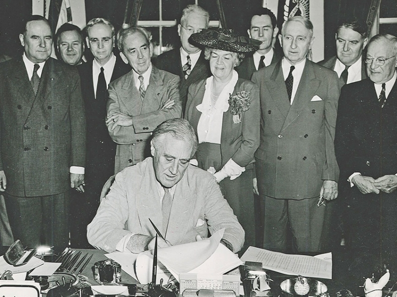The GI Bill signed into law