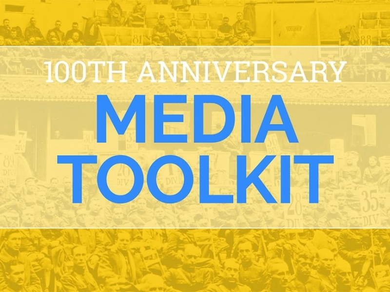 Centennial media toolkit available in multiple versions