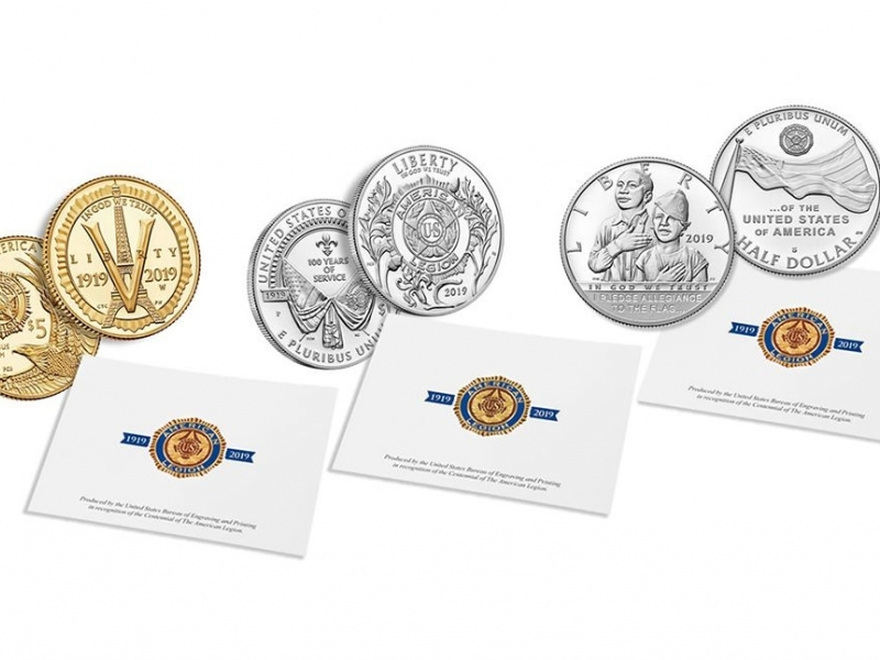 Newly released Legion centennial coin and emblem print set available