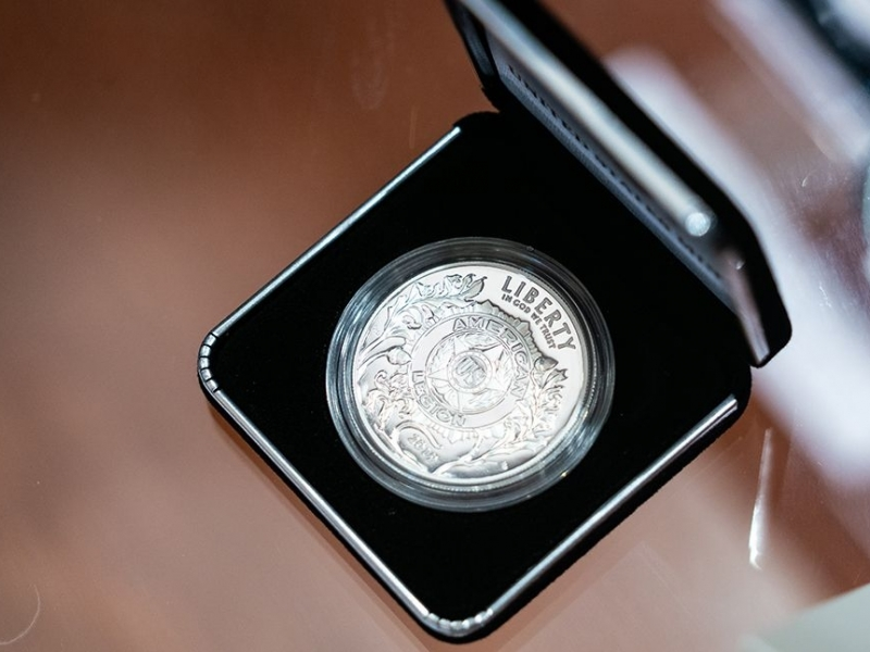 100th anniversary Legion coin series raffled at district, post level