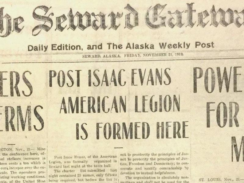 Publicity for a centennial post