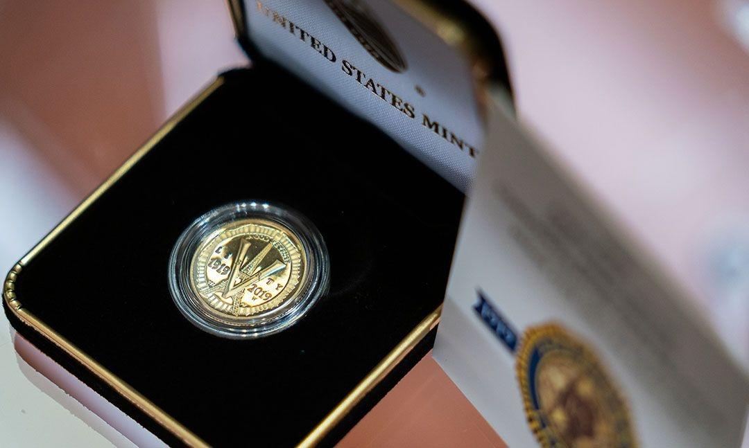 Support Legion programs through the purchase of centennial coins