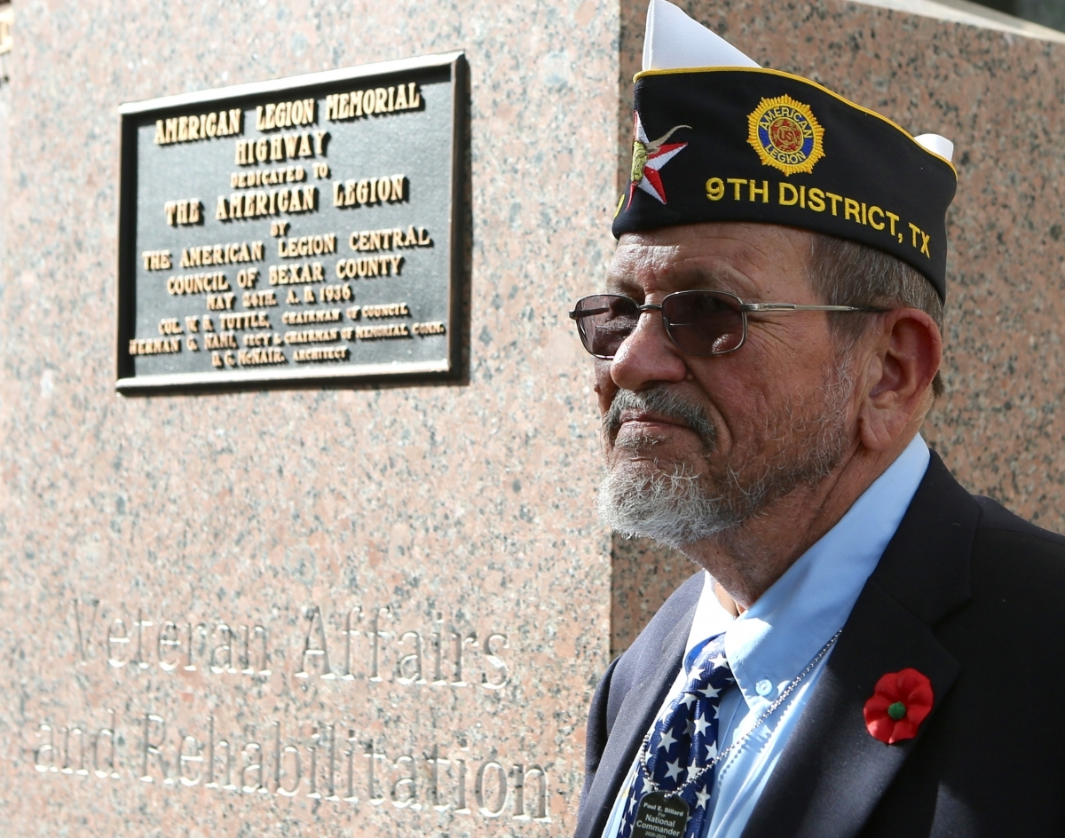 Texas celebrates centennial with monument dedication