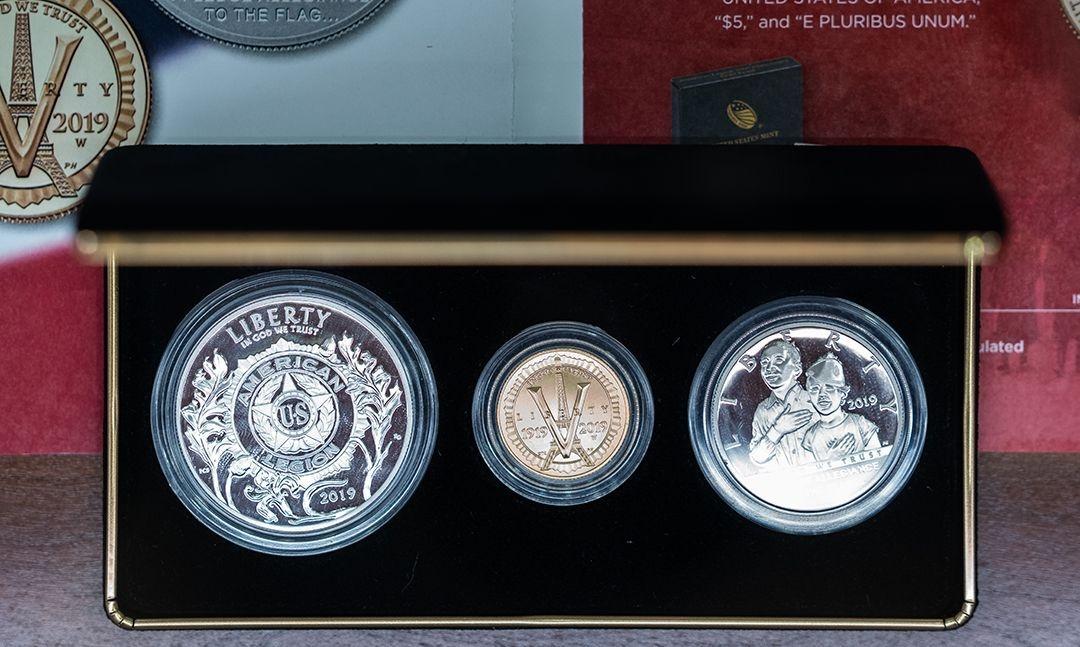 Legion commemorative coin sales continue to surge