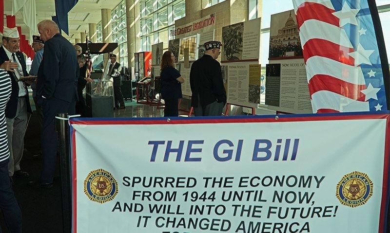 New Jersey Legionnaires salute the GI Bill
