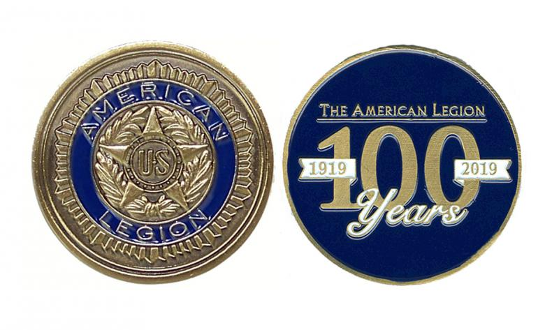 New Centennial Items Available From Emblem Sales The American