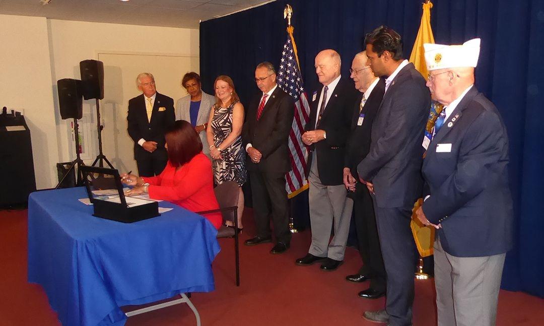 New Jersey legislature honors Legion's 100th anniversary