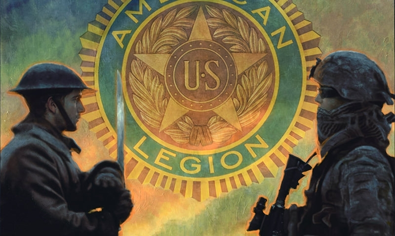 American Legion centennial lithographs on sale now
