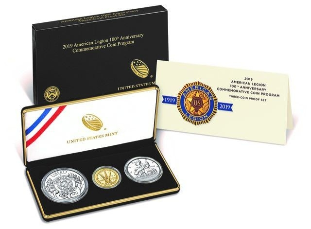 Coin countdown: Legion 100th anniversary coins on sale today at noon